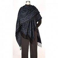 Merino wool Irish shawl