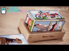 Giochi sonori per bambini: i cubi che suonano!