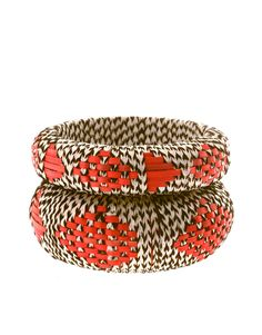 wicker thread aztec bangles