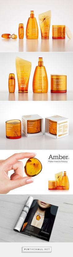 Amber Insect Repellent Packaging by Tanya Chursina | Inspiration Grid | Design Inspiration - created via https://pinthemall.net