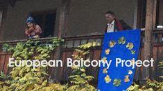 """European Balcony Project"" - Ausrufung der europäischen Republik Balcony, Projects, Painting, Be Bold, Photo Illustration, Terrace, Paintings, Balconies, Draw"