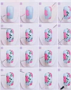 nail art tutorial - Google Search