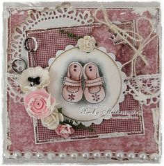Cards By Becky: Lili Of The Valley Babies Blog Hop Kids Cards, Baby Cards, Shabby Chic Cards, Some Cards, Marianne Design, Card Making Inspiration, Card Maker, Scrapbooking, Card Tags