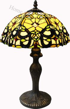 Beautiful Antique Tiffany Style Table Lamps