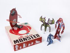 Create Your Own Monster Kit: Such a fun gift, with all the monsters from very cool indie illustrators.