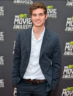 Daniel Sharman?! More like Daniel...are you sure, man, that you don't want to go out with me?!