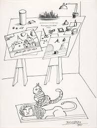Resultado de imagem para saul steinberg dibujos
