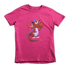 Draco Blood Red Short sleeve kids t-shirt