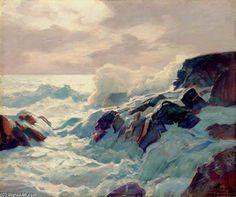 Frederick Judd Waugh (1861-1940) ~ Ressac