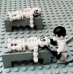 Zbigniew LIbera. Lego. Concentration Camp. I mean...no frigging way. I'd nevet give this to a child, but I can't help but admire this as art, or a social/historical statement.