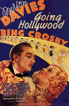 Art Deco poster of Marion Davies, Bing Crosby movie 1933 by Movie-Fan, via Flickr