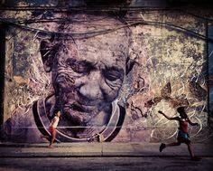 Wrinkles of the City: Dope JR & José Parla Murals in Havana