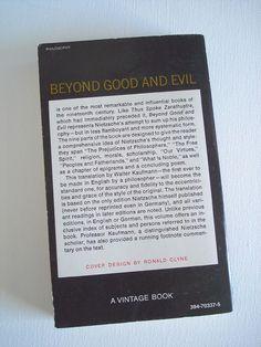 Beyond Good and Evil by Freidrich Nietzsche