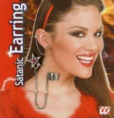 Satanic Earring #Halloween #Fancy #Dress #Costume #Accessory #Outfit #Idea #Ideas #Jewellery #Earring