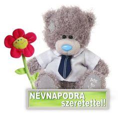 Névnap - jolka.qwqw.hu Name Day, Happy Birthday, Teddy Bear, Happy Aniversary, Happy B Day, Saint Name Day, Teddybear, Happy Birth Day