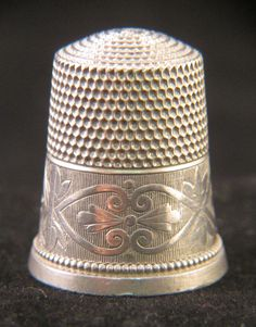 RP: Antique Simons Bros Sterling Silver Thimble | eBay.com