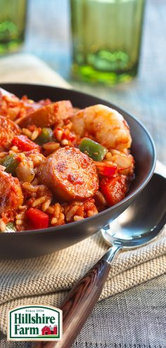 Happy Mardi Gras! If you're looking for a hearty meal to help keep the festivities going, try this recipe for Cajun Jambalaya featuring Hillshire Farm Smoked Sausage! Just remember to save room for King Cake... Find the recipe and more here.