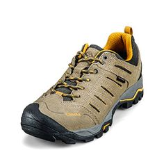 Clorts Mens Outdoor Khaki Suede Leather Waterproof Hiking Boots US95 ** Learn more by visiting the image link.