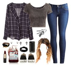 """""""Stefan Salvatore"""" by annefs1 ❤ liked on Polyvore featuring Zara, Joules, H&M, Converse, Mimco, Valentino and Alexander McQueen"""