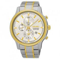 SEIKO Montre classique chronographe SNDG68P1