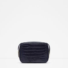 dbba393aff43 Image 1 of EMBOSSED CROSS BODY BAG from Zara Zara Official Website