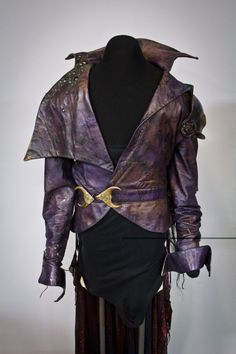 Goblin King costume worn by David Bowie in Labyrinth. (Photo credit: Courtesy of EMP Museum)