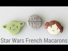 Star Wars French Macarons | How to make French Macarons - YouTube