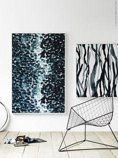20 Art DIY Ideas Like An IKEA Stylist | Poppytalk