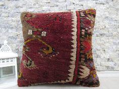 16x16 carpet pillow decorative pillow sofa pillow morocco pillow 16x16 handmade rug pillow turkish carpet pillow rug pillow