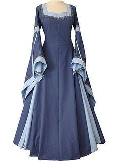 Wish | Guinevere Indigo-Light Blue Renaissance Dress