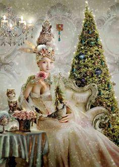 e9af4fa52208d82b54fa89e120ccc3e0--magical-christmas-vintage-christmas.jpg (600×842)