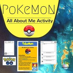 You are getting an editable version of the hugely popular Pokmon - All about me…