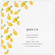 Lemon Drape by Serena & Lily- Paperless Post