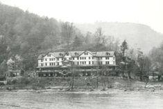 Dun Glen Hotel, Thurmond, WV.   The world's longest poker game (14 yrs) took place here