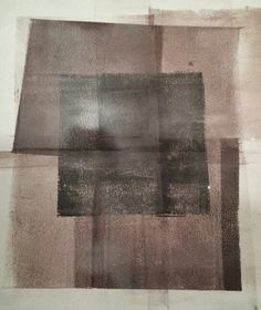Fiona McLeod - Gelli plate print