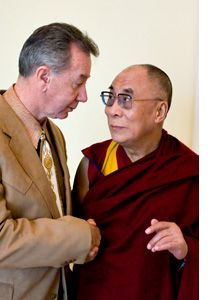Tom Mower Sr and Dalai Lama!