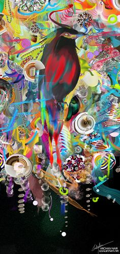 Archan Nair   Mesmerising Imagery in Techno Colour | inspiration