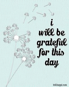 "Lots of free GRATITUDE prints and quotes. A great reminder to ""Be Grateful"" Attitude Of Gratitude Quotes, Gratitude Quotes Thankful, Gratitude Journals, Blessed Friends, Project Life Scrapbook, Important Quotes, My Philosophy, Interesting Reads, Printable Quotes"