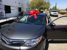 Signed, sealed, delivered - we're yours! #wbw to our car give away!   #car #giveaway #drive #new