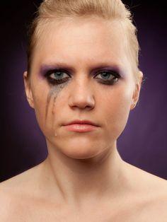 Lynn - make-up fail // Photography: Tim Luyten // Photo assistants: Siel De Cordier, Anne De Geyter, Isaura Dierickx, Stefanie de Muynck, Lynn Rabaut, // Model: Lynn Rabaut