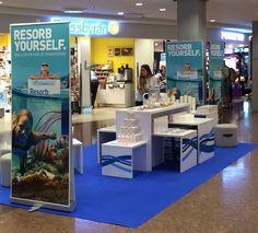 Resorb - Sampling event at Arlanda Terminal 5.