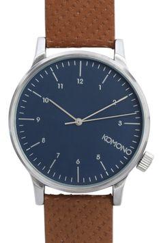 #watches #montre #komono #cognac #winston #blue #timefy http://www.timefy.com/fr/montres-hype/1889-winston-blue-cognac-komono.html