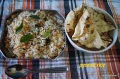 PEANUT RICE/LUNCH BOX IDEA - Powered by @ultimaterecipe