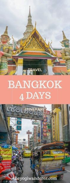 Visiting Bangkok for the first-time? Check out this Bangkok 4 days itinerary for the best things to do and see in Bangkok for first-time visitors. Thailand Adventure, Thailand Travel Guide, Bangkok Travel, Visit Thailand, Bangkok Thailand, Asia Travel, Bangkok Guide, Laos Travel, Thailand Honeymoon