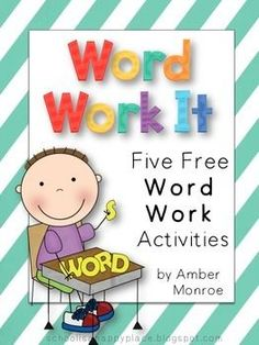 Daily 5 or word work rotation center activities! I pinned this just to keep the creators information from TPT because I love her center activities and the incorporation of the daily 5 for her word work. For her mega packs are amazing! Word Work Stations, Word Work Centers, Reading Centers, Writing Centers, Reading Workshop, Abc Centers, Literacy Centres, Reading Stations, Math Stations