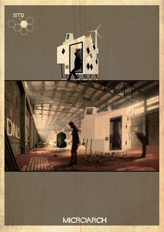 Gallery - Federico Babina Dissects the House in MICROARCHITECTURES Series - 10