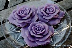 #Lavender_Flower_Soap can be availed from us in various designs, colors and #fragrances as per the client specifications at affordable prices. http://flowerof-life.com/