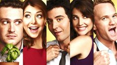How I Met Your Mother – present) - Josh Radnor, Jason Segel, Cobie Smulders, Neil Patrick Harris, Alyson Hannigan Ted Mosby, How I Met Your Mother, Nicholas Sparks, Movies Showing, Movies And Tv Shows, Josh Radnor, Barney And Robin, Which Hogwarts House, Loosing Weight