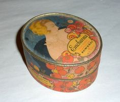 Vintage 1920's Full - Unopened Box 'Encharma' Face Powder by Luxor | eBay