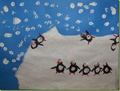 Fingerprint Project for A Penguin Story: Grade 1